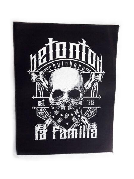 LA FAMILIA Rückenaufnäher